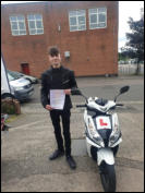 CBT Certificate Harvey from Bridgwater