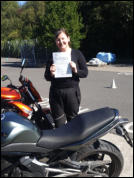 Cindy this time with her Mod2 pass.