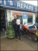 Danny first time Mod1 pass