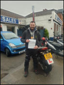 Callum from Rockwell Green Mod2 pass. CBT to full licence in a week