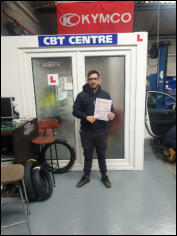 CBT Certificate - Alex from Minehead