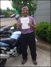 Raman again - gone from CBT to Mod2 full DAS pass in under 5 months in order to go on his dream holiday which involves riding a motorcycle through Nepal to the base of Mount Everest