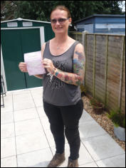 First time Mod1 pass for Lyndsay