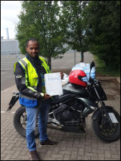 Bini with his Mod2 pass
