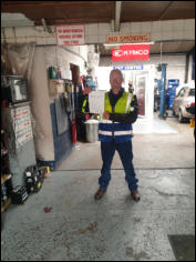 Dale passed his Mod2 test