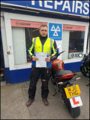 Ed from Bridgwater Mod2 pass