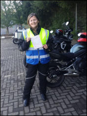 Cindy (Tristan's wife) first time Mod1 pass on same day.