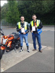 Tom and Ollie first time Mod1 pass.